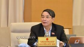 Chủ nhiệm Ủy ban Tài chính, Ngân sách Nguyễn Đức Hải