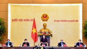"""Phiên họp của Đảng đoàn Quốc hội cho ý kiến về """"Đề án bầu cử đại biểu Quốc hội khóa 15 và đại biểu HĐND các cấp nhiệm kỳ 2021-2026"""""""