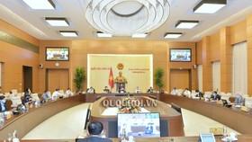 Toàn cảnh phiên khai mạc phiên họp thứ 44 của UBTVQH