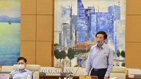 Tổng Thư ký Quốc hội Nguyễn Hạnh Phúc nhận định, áp dụng hình thức họp trực tuyến sẽ là một bước tiếp tục tăng cường ứng dụng công nghệ thông tin trong hoạt động của Quốc hội, tiến tới Quốc hội điện tử