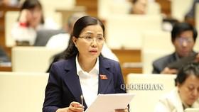 ĐBQH Đỗ Thị LAn vừa được phê chuẩn giữ chức vụ Ủy viên Thường trực Ủy ban Về các vấn đề xã hội của Quốc hội Khóa 14