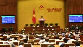 Quốc hội biểu quyết thông qua Nghị quyết về thí điểm một số cơ chế, chính sách tài chính - ngân sách đặc thù đối với thành phố Hà Nội