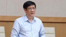 Quyền Bộ trưởng Bộ Y tế Nguyễn Thanh Long.