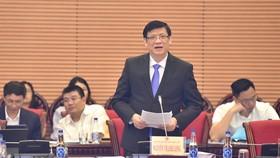 Quyền Bộ trưởng Bộ Y tế Nguyễn Thanh Long