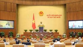 Toàn cảnh Kỳ họp thứ 10, Quốc hội khóa XIV. Ảnh theo Quochoi