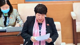 Chủ nhiệm Ủy ban Về các vấn đề xã hội Nguyễn Thuý Anh. Ảnh: QUANG PHÚC