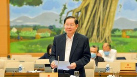 Bộ trưởng Bộ Nội vụ Lê Vĩnh Tân
