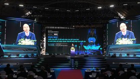 Thủ tướng Nguyễn Xuân Phúc phát biểu tại sự kiện. Ảnh: VGP
