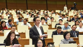 ĐB Hoàng Văn Cường (Hà Nội). Ảnh: QUANG PHÚC