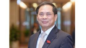 Tân Bộ trưởng Bộ Ngoại giao Bùi Thanh Sơn. Ảnh: QUANG PHÚC