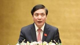 Tổng Thư ký Quốc hội - Chủ nhiệm Văn phòng Quốc hội Bùi Văn Cường