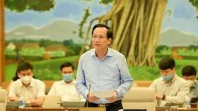 Bộ trưởng Bộ LĐTBXH Đào Ngọc Dung