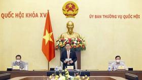Chủ tịch Quốc hội làm việc với Tổ công tác về phòng, chống Covid-19 của Ủy ban Thường vụ Quốc hội