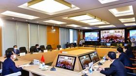 Đoàn đại biểu Quốc hội Việt Nam tham dự hội nghị điểm cầu tại Hà Nội