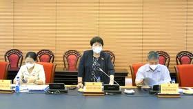 Chủ nhiệm Ủy ban Xã hội Nguyễn Thúy Anh chủ trì phiên họp