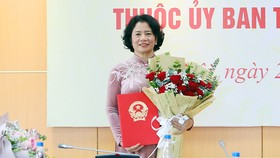 Tân Phó Trưởng Ban Dân nguyện Lê Thị Nguyệt