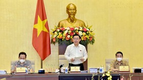 Chủ tịch Quốc hội Vương Đình Huệ chủ trì làm việc về Quy hoạch sử dụng đất quốc gia