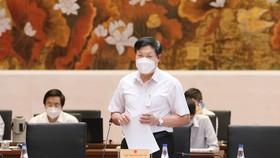 Thứ trưởng Bộ Y tế Đỗ Xuân Tuyên