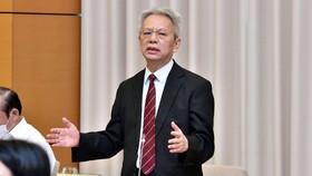 TS Nguyễn Sĩ Dũng, nguyên Phó Chủ nhiệm Văn phòng Quốc hội đề nghị tăng cường hoạt động giải trình ở các uỷ ban của Quốc hội