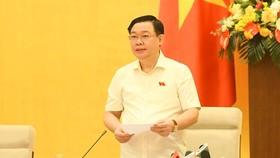 Chủ tịch Quốc hội đề nghị cơ quan thẩm tra báo cáo công khai, minh bạch về quá trình rà soát các vấn đề liên quan đến dự án 1 luật sửa 10 luật