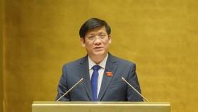 Bộ trưởng Bộ Y tế Nguyễn Thanh Long. Ảnh: QUANG PHÚC