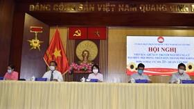 Các ứng cử viên HĐND TPHCM đơn vị bầu cử số 23 tiếp xúc cử tri quận Tân Phú