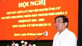 Chủ tịch UBND TPHCM Nguyễn Thành Phong: Công tác phòng chống dịch vẫn là nhiệm vụ hàng đầu của TPHCM