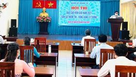 Quang cảnh khai mạc hội thi