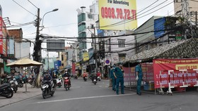 Lượng phương tiện ra vào quận Gò Vấp đã giảm, giao thông ở các chốt ổn định