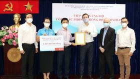 TPHCM tiếp nhận trang thiết bị phòng, chống dịch Covid-19 trị giá hơn 4 tỷ đồng