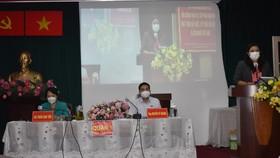 Các Đại biểu Quốc hội TPHCM đơn vị 2 tại buổi tiếp xúc cử tri quận 1, 3, Bình Thạnh
