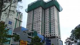 Công trình Xi Grand Court nơi xảy ra vụ việc.