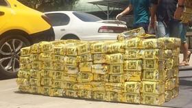 1,1 tấn ma túy bắt giữ ở TPHCM.