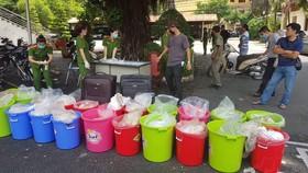 Bắt giữ nửa tấn ma túy ước trị giá 500 tỷ đồng của người Trung Quốc tại TPHCM