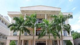 Khuôn viên Sở Tài nguyên và Môi trường tỉnh Tây Ninh