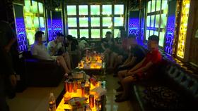Đột kích nhà hàng Lộc Phát 68 phát hiện hàng chục người nghi phê ma túy