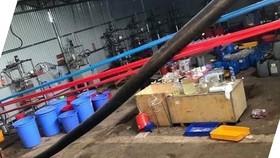 Kho hóa chất sản xuất ma tuý lớn nhất cả nước