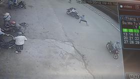 Hình ảnh vụ việc từ camera