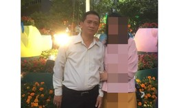 Ông Nguyễn Tiến Dũng, nhân viên Phòng Quản lý hồ sơ – Giáo dục tư vấn của Trung tâm Hỗ trợ xã hội TPHCM (thuộc Sở LĐ-TB-XH TPHCM) bị bắt khẩn cấp. Ảnh: C.T