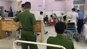 Dù được điều trị nhưng Trung uý Tân đã tử vong do vết thương quá nặng/