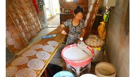 Trăm năm làng nghề bánh tráng An Ngãi