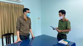 Cơ quan An ninh điều tra, Công an TPHCM đọc tống đạt khởi tố bị can