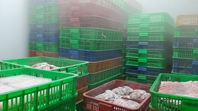Gần 6 tấn thịt gia súc, gia cầm, thuỷ sản... không rõ nguồn gốc, xuất xứ.Ảnh: Ban Quản lý An toàn thực phẩm TPHCM cung cấp