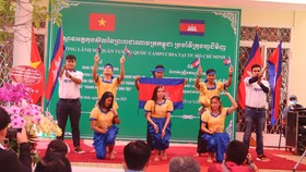 Tổ chức ngày Văn hoá dân tộc của người Khmer tại Tổng lãnh sự quán Campuchia ở TPHCM