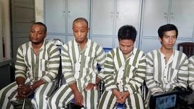 Một nhóm đối tượng người nước ngoài lừa đảo từng bị công an triệt phá bắt giữ trước đó