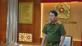 Thứ trưởng Lê Quốc Hùng phát biểu ý kiến chỉ đạo