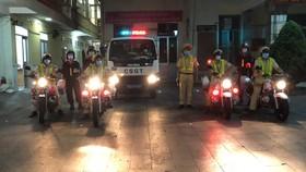 Đội CSGT Chợ Lớn ra quân cao điểm bảo đảm ATGT – TTXH dịp lễ và bảo vệ bầu cử đại biểu Quốc hội, HĐND vào rạng sáng 15-4