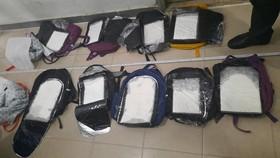 Bắt 2 đối tượng thu 30 bánh heroin, 60 ngàn viên ma túy tổng hợp