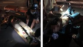 Vụ việc khiến 1 CSGT và 1 dân quân bị thương, phải nhập viện cấp cứu