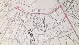 Khu phố 4, phường Tăng Nhơn Phú A, TP Thủ Đức với 7.067 người sẽ phong tỏa tạm thời để xét nghiệm, tầm soát Covid-19